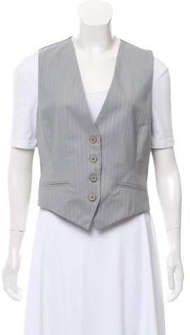 Stella McCartney Pinstripe Wool Vest