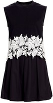 Derek Lam 10 Crosby Lea 2-in-1 Crochet Dress
