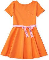 Ralph Lauren Fit & Flare Shirtdress, Big Girls (7-16)