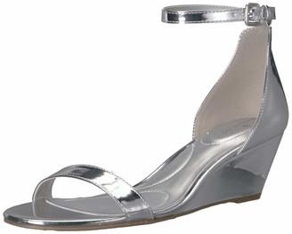 Bandolino Womens Omira Silver 6.5 M