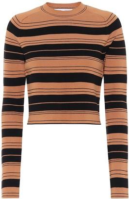 Proenza Schouler Striped silk-blend sweater