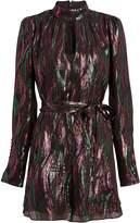Saloni Tania Rainbow Mini Dress
