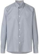 Bottega Veneta overprinted classic shirt