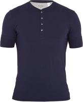 Paul Smith Cotton-jersey henley pyjama top