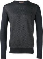 Cruciani knitted sweater - men - Silk/Cashmere - 48