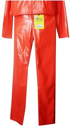 Fiorucci Orange Trousers for Women
