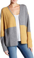Cullen Long Sleeve Open Front Cashmere Cardigan Sweater