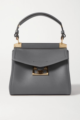 Givenchy Mystic Small Leather Tote - Gray