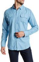 Burnside Top Dog Long Sleeve Regular Fit Shirt