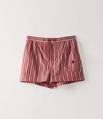 Vivienne Westwood We Boxer Shorts Red/Blue Stripes