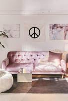 Urban Outfitters Laurel Velvet Sleeper Sofa