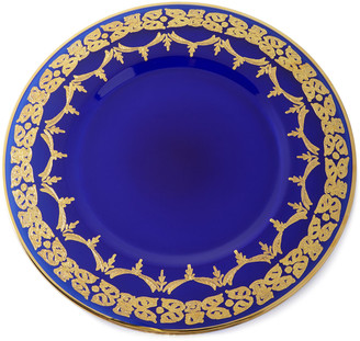 Neiman Marcus Blue Oro Bello Charger Plates, Set of 4