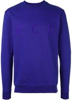 McQ by Alexander McQueen embroidered logo sweatshirt