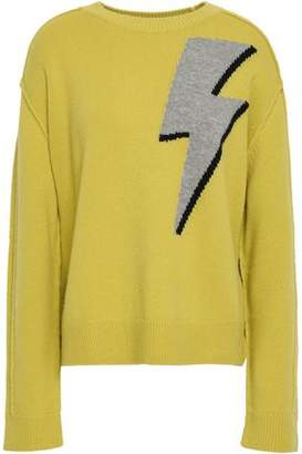 Robert Rodriguez Intarsia-knit Wool And Cashmere-blend Sweater