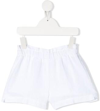Il Gufo Plain Slip-On Shorts