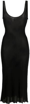 Jean Paul Gaultier Pre-Owned 2000s Sheer Midi Dress