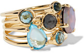 Ippolita Rock Candy 18-karat Gold Multi-stone Ring - one size