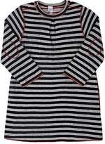 Petit Bateau INFANTS' REVERSIBLE STRIPED COTTON DRESS