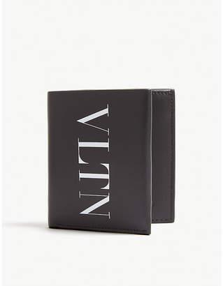 Valentino VLTN leather billfold wallet