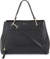 DKNY Medium saffiano leather satchel