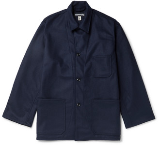 MONITALY Wool-Blend Jacket