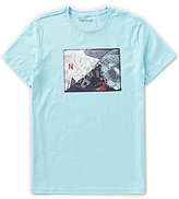Nautica Collage Graphic Short-Sleeve Crewneck Tee