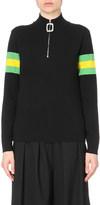 J.W.Anderson Stripe-detail wool jumper