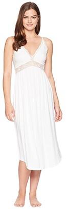 Eberjey Colette - Long Gown (White) Women's Pajama