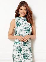 New York & Co. Eva Mendes Collection - Linna Crop Top - Floral