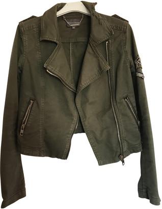 Silvian Heach Khaki Cotton Jackets