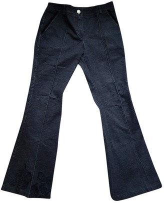 Christian Dior Black Cotton Jeans for Women Vintage