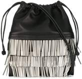 Alexander Wang Ryan Mini Fringed Dustbag