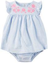 Carter's Baby Girl Striped Bodysuit Dress