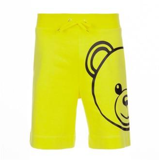 Moschino Brushed Cotton Fleece Short Pants