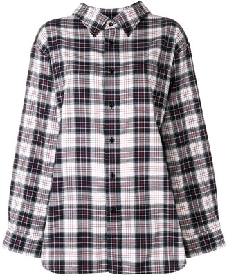 Balenciaga Swing Collar shirt