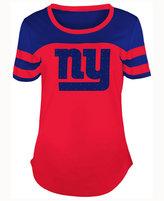 5th & Ocean Women's New York Giants Limited Edition Rhinestone T-Shirt