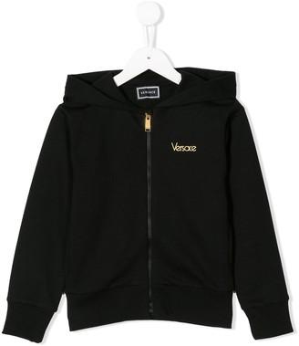 Versace branded hoodie