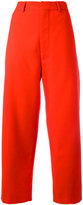 Marni straight leg trousers - women - Polyester/Spandex/Elastane/Viscose/Virgin Wool - 42