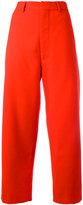 Marni straight leg trousers - women - Polyester/Viscose/Virgin Wool/Spandex/Elastane - 44