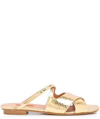 Rachel Comey crocodile-embossed sandals