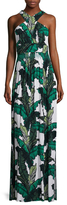 Tracy Reese Criss Cross Maxi Dress