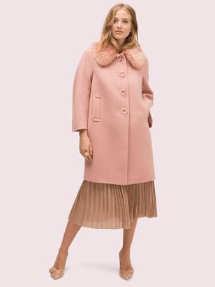 Kate Spade Metallic Twill Coat
