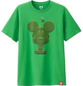 Uniqlo Men Mickey 100 Short Sleeve Graphic T-Shirt