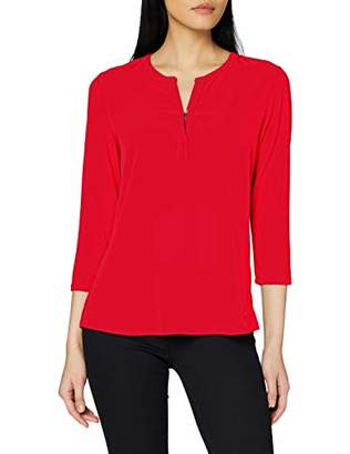 Brax Women's Clarissa Casual Modern Blouse, (Ruby Red 42), (Size: 46)