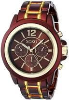 XOXO Women's XO5587 Brown and Gold Bracelet Watch