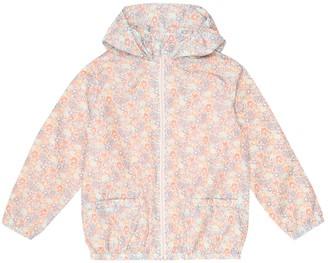 Bonpoint Nymphea Liberty-print rain jacket