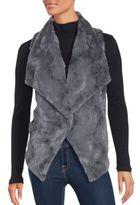Saks Fifth Avenue Cordova Faux Fur Textured Vest
