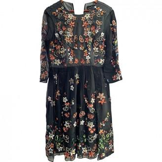 Needle & Thread Black Silk Dress for Women