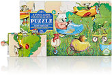 Eeboo BUSY VEHICLES 36-PIECE PANORAMIC PUZZLE