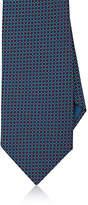 Brioni Men's Dotted Silk Necktie